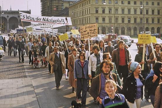 """Ausstellung """"Wir alle sind München: Engagement für die Stadt – 50 Jahre Münchner Forum"""""""