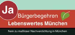"""Bürgerbegehren """"Lebenswertes München"""""""