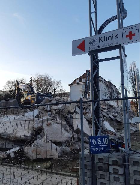 Rathausnachrichten 28. April 2021: Kraepelinstr. 4, Hätte der Abriss von Wohnraum verhindert werden können?