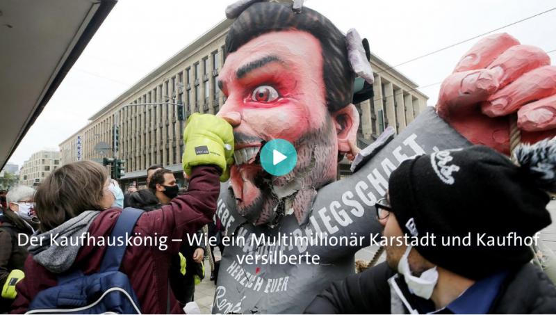 Der Kaufhauskönig – Wie ein Multimillionär Karstadt und Kaufhof versilberte (ARD)