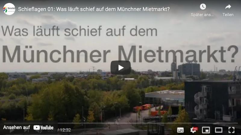 Was läuft schief auf dem Münchner Mietmarkt?