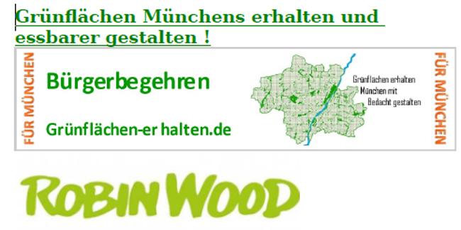 Demo am 22. Mai 2021 Zum Erhalt Münchner Grünanlagen