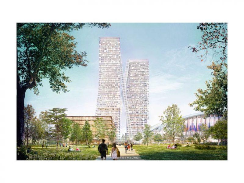 Rathausnachrichten vom 08. Juni 2021: PaketPost-Areal: Städtebauliches Modell im PlanTreff zu besichtigen