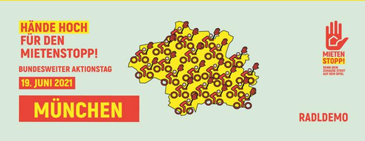 """Bundesweiter Aktionstag """"Hände hoch für den Mietenstopp! am 19.06.2021"""