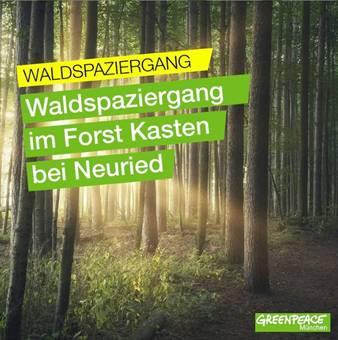Waldspaziergang im Forst Kasten bei Neuried
